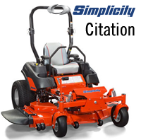 Simplicity Citation Zero-Turn Mower